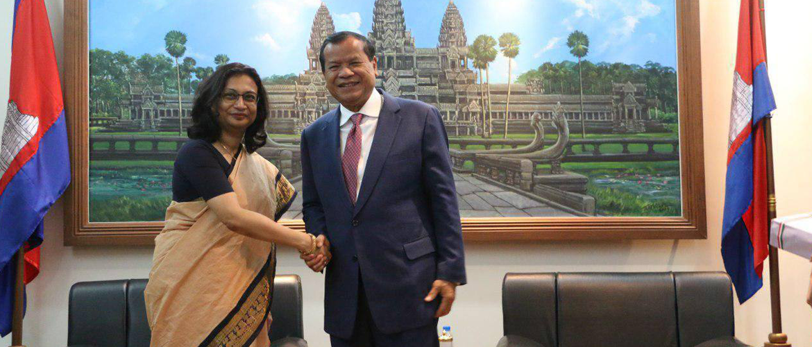 Ambassador Manika Jain called on Minister of Tourism