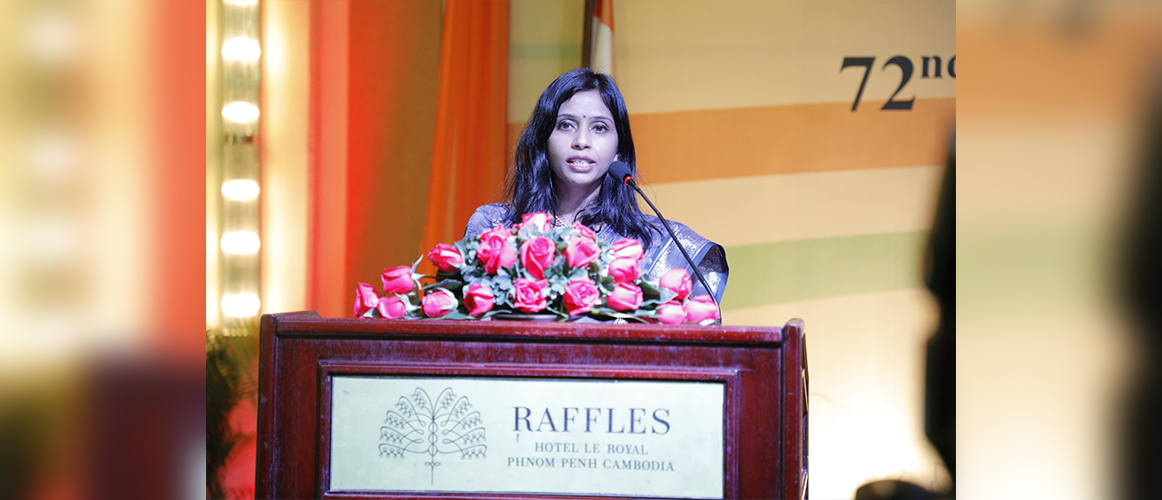 Reception hosted by Dr. Devyani Khobragade on the occasion of 72nd Republic Day of India