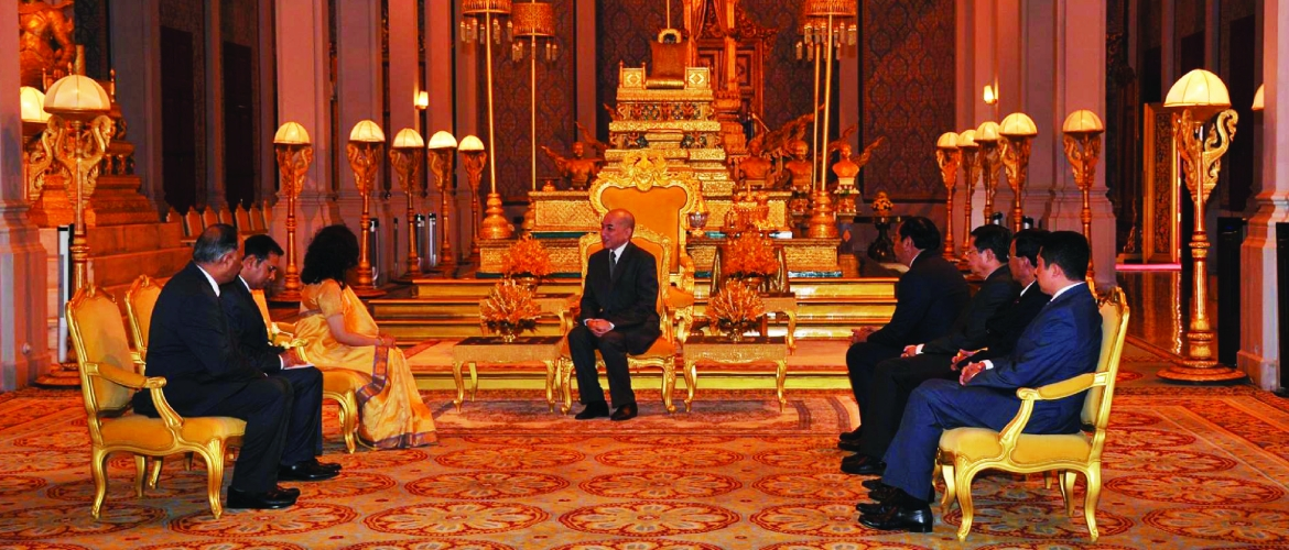 Presentation of Credentials by Ambassador of India to His Majesty King