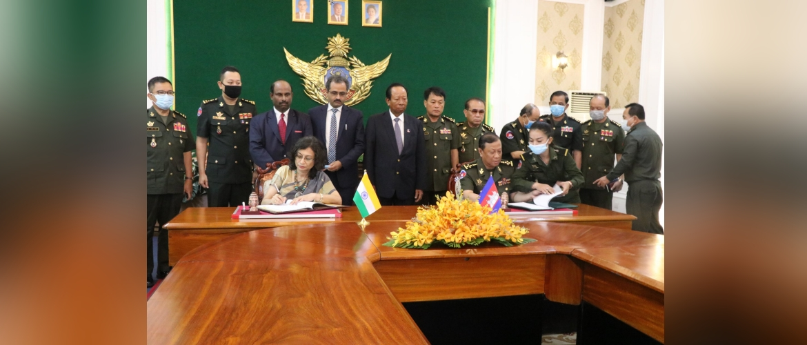 Signing Ceremony of USD 1.5 Million Grant Assistance to Cambodia